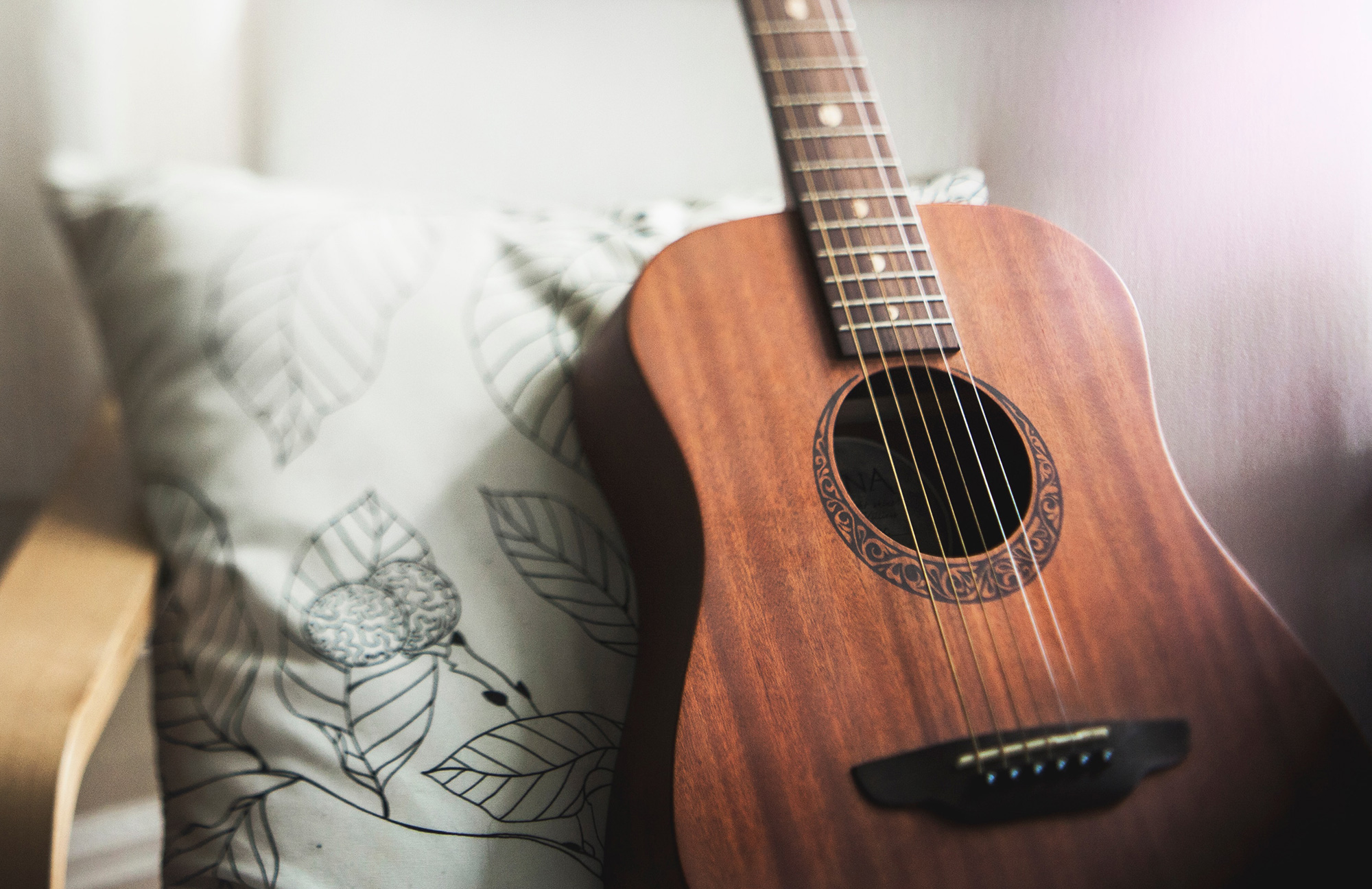 Bild: Musiktherapie Gitarre